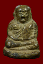 Roop Lor Lp Ngern ,Pim keeta Kru Wat Mai Kam-One Before BE. 2462.Thai Amulet