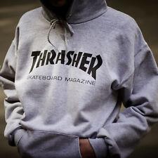 AU stock Men Women Thrasher Hoodie jumper Sweater Hip-hop Skateboard Pullovers