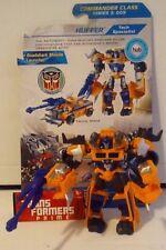 Transformers Prime Beast Hunters Cyberverse Commander Class Huffer Complete