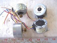 Step Motors for Printer 7.5 degree used lot of 4