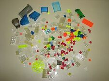LEGO BULK LOT TRANS CLEAR Colors Bricks parts pieces plates specialty screens