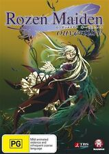 Rozen Maiden Ouverture DVD BRAND NEW Region 4