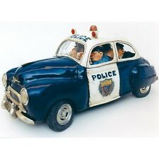 """THE COMIC ART of Guillermo Forchino """"POLICE"""" Brand New police officer patrol car"""