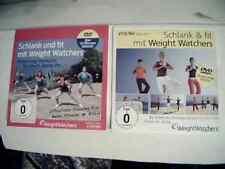 Schlank und Fit mit den Weight Watchers 2 DVDs neu