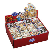 Geoff Tristram Cats Pocket Tin 4 Designs To Choose From NEW