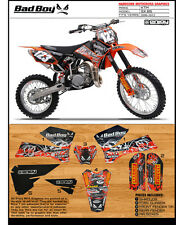 BADBOY  Motocross Graphics KTM SX 85 2006-2011 Dirt bike Graphics KIT