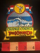 Orange County Tae Kwon Do Plus Martial Arts Patch 01Rn