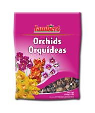 Lambert Orchid Mix, 4.4 L (4 qt), peat moss chunks/bark/charcoal/volc anic rock