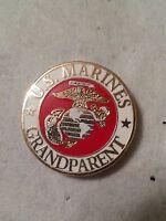 US Marine Corp GRANDPARENT Pin