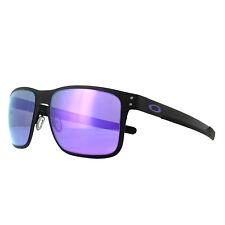 671049aa4ac Oakley Gafas de Sol Holbrook Metal OO4123-14 Negro Mate Violeta IRIDIO