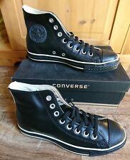 Converse All Star Lea HI Leder Größe 39,5  Schwarz Creme NEU Schuhe Sneaker