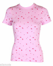 Maglie e camicie da donna rosa in poliestere taglia XS