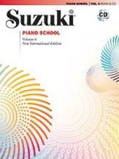 Suzuki Piano School New International Edition Piano Book and CD, Volume 6 ,32636