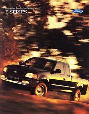 1998 Ford F- Series F-150 F-250 Std XL XLT Lariat Pickup Truck Sales Brochure
