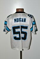 NFL CAROLINA PANTHERS AMERICAN FOOTBALL SHIRT JERSEY #55 MORGAN REEBOK SIZE L