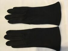 Vintage Women's Ladies Gloves Black from Czechoslovakia