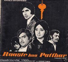 RAASTE KAA PATTHAR 1972 AMITABH BACHCHAN SHATRUGHAN SINHA PRESS BOOK BOLLYWOOD