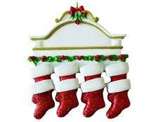 Personalizado de árbol de Navidad Decoración Adorno mentle familia de 8