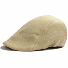 Mens Retro Gatsby Baker Boy NewsBoy Casual Outdoors Golf Hat Beret Flat Cap