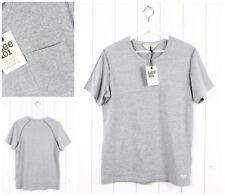 NUEVO LEE 101 Camiseta Camisetas Gris MELE Corte Normal S pequeña