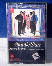 The Best Of Atlantic Starr: Secret Lovers 9 track 1986 CASSETTE TAPE NEW!