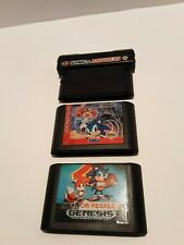 Sonic & Knuckles, Sonic 2, Sonic Spinball. Sega Genesis NTSC US only, tested