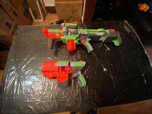 nerf viligon and vortex guns