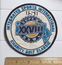Super Bowl XXVIII 28 Integrated Sports International Charity Golf Classic Patch
