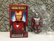 "Medicom Marvel Iron Man 2 Kubrick ""Iron Man Mark V"""