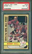 1972 73 OPC #228 BOBBY HULL PSA 8 NEAR MINT MINT