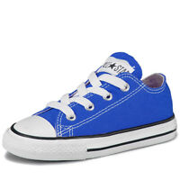 Boys, Girls Converse All Star Low Infants OX Plimsolls Trainers Shoes Pumps Size