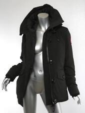 CANADA GOOSE Womens Black RIDEAU Down Parka Jacket Coat Outerwear S NEW $750