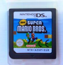 New Super Mario Bros brothers DS 2 DS NINTENDO NDS LITE DSi XL de reformage Platforming Game UK