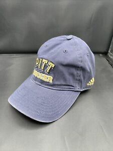 University of Pittsburgh Pitt Panthers Soccer Hat Adidas Adjustable Dad Hat NEW!