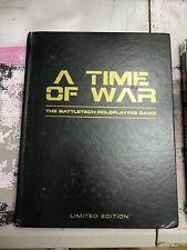 Battletech A Time Of War Autographed Le W/ Companion