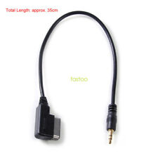 Music Interface AMI to 3.5mm Audio AUX Adapter Cable for Audi A6 S6 A8 Q3 Q5 TT