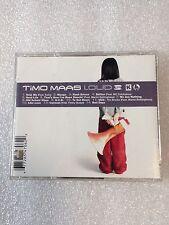 TIMO MAAS LOUD CD BRAND NEW (FREE SHIPPING)