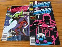 Daredevil #300 2 copies #301 1 copy Lot  of 3 Marvel Comics Never Read