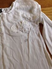 ZARA KIDS white long sleeved shirt aged 13-14 years
