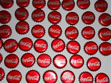 Coca-Cola Lot 50 Soda Bottle Caps Used Plastic-lined