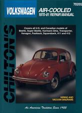 Chilton Repair Manual 70202 Volkswagen Air Cooled, 1970-81