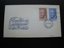 TCHECOSLOVAQUIE - enveloppe 26/10/1950 (cy84)