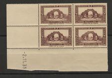 Algérie RF sites et paysages Lambèse 4 timbres neufs coin daté 2.11.39 /T3501