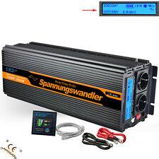 2500W 5000W DC 12V AC 220 230V inverter onda sinusoidale pura LCD Convertitore
