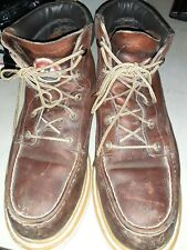 red wing steel toe boots Irish Setter size 9.5