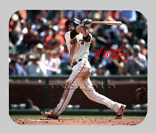 Item#3428 Matt Duffy San Francisco Giants Facsimile Autographed Mouse Pad