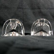 Contemporary Art Glass Candle Holders Designed for Square Candles