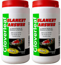 2 Pack - Cloverleaf Blanket Answer 800g (Treats 2200g)