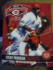 REDSFEST 2014 SIGNED NICK HOWARD PHIL ERVIN CINCINNATI REDS AUTOGRAPH Program