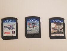 Lot of 3 PS Vita Games The Legend of Heroes Zero no Kiseki , Sen No, Ragnarok